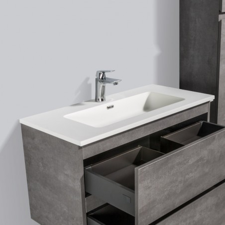 Vasque simple en solid surface