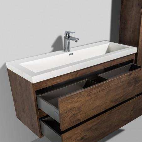 Vasque simple en solid surface