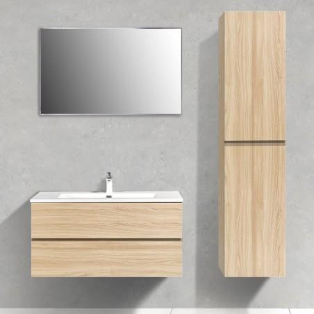 Ensemble salle de bain Trinité 100 cm | Chêne clair