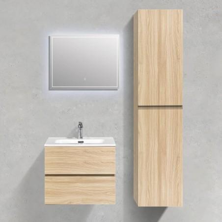 Ensemble salle de bain 60 cm   Chêne clair