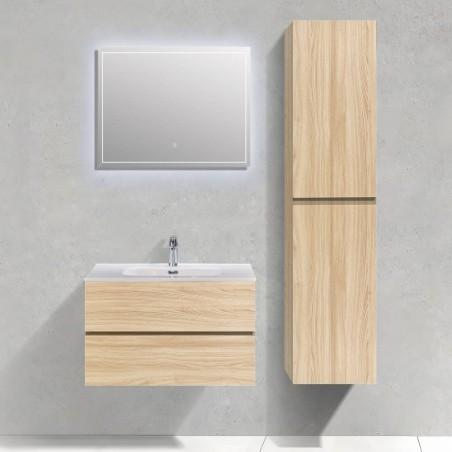 Ensemble salle de bain Trinité 80 cm | Chêne clair
