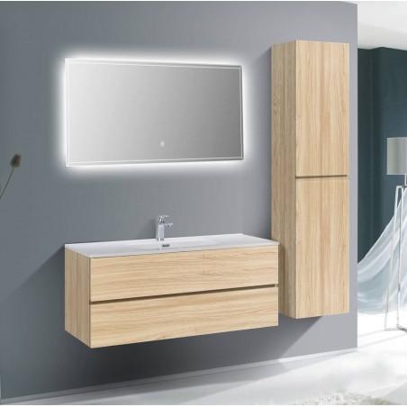Ensemble salle de bain 120 cm | Chêne clair