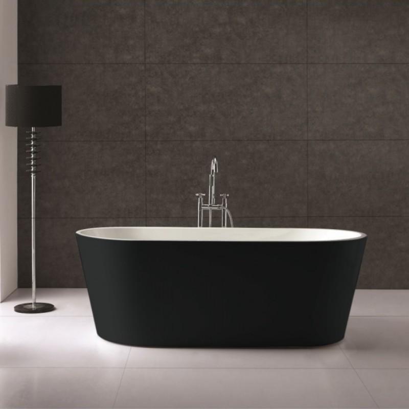 baignoire lot londres blanc ou noir salle de bain. Black Bedroom Furniture Sets. Home Design Ideas