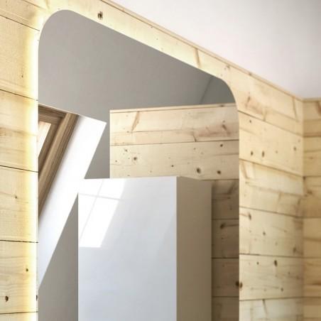Miroir lumineux - Rétro-éclairé LED