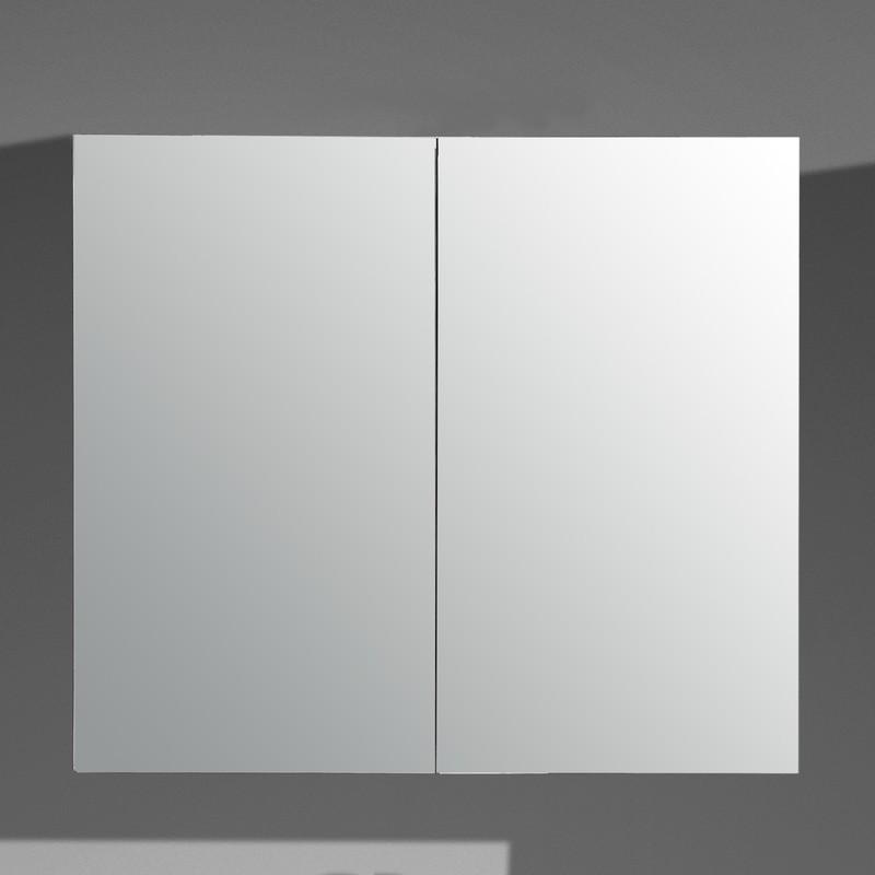 Meuble miroir 2 ou 3 portes armoire de salle de bain for Armoire de salle de bain avec miroir