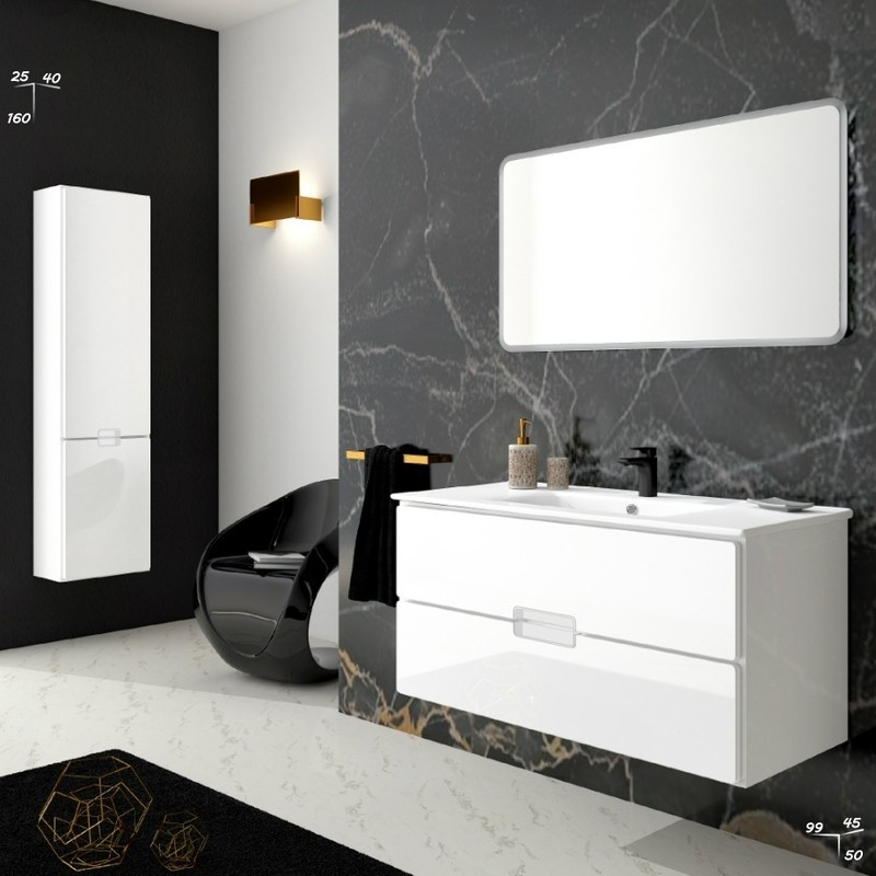 Ensemble meuble de salle de bain | Adele