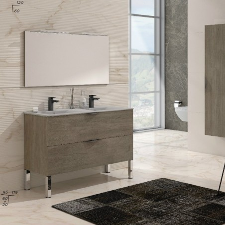 Ensemble meuble de salle de bain | Ana